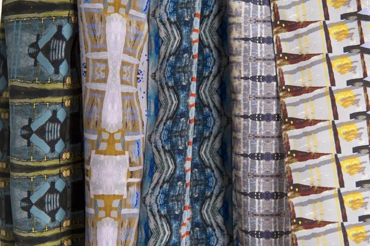 London Embankment scarves