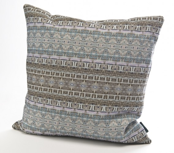 UN02 Bath Collage linen cushion