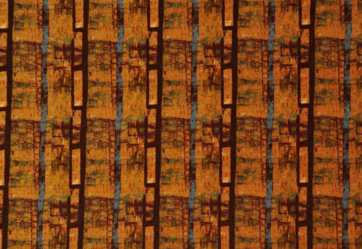 Blue Brown Stripe NY02