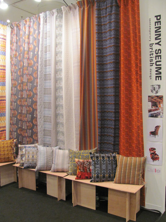 Penny Seume designs at the ICFF