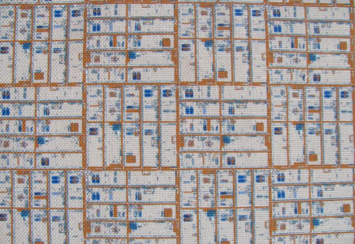 Cream Grid NY12